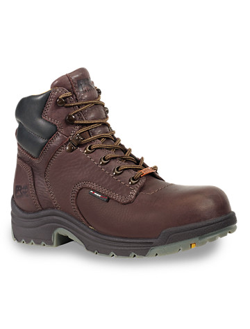 "Timberland PRO® Titan® Waterproof 6"" Safety Toe Work Boots"