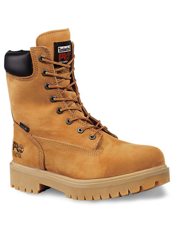 "Timberland PRO® Direct Attach Waterproof 8"" Steel Toe Work Boots"