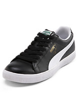 Puma® Clyde Leather Lace-Up Sneakers
