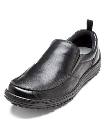 Hush Puppies® Belfast Dual-Fit Slip-Ons