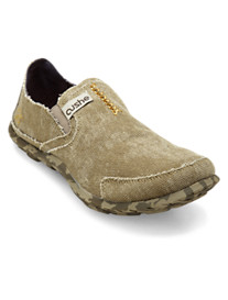 Cushe® Distressed Canvas Slipper Loafers