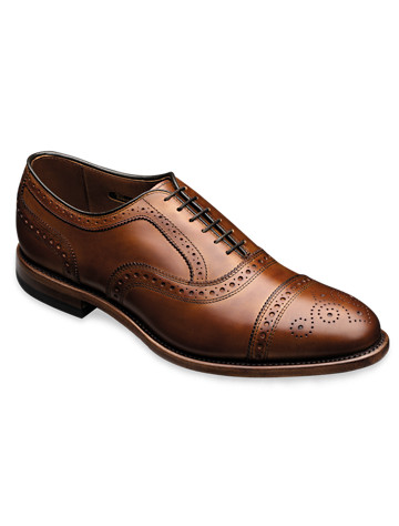 Allen Edmonds® Strand Cap-Toe Oxford Dress Shoes