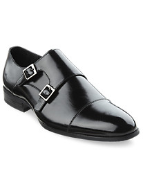 Stacy Adams Gordon Monk Strap Oxfords