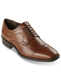 Johnston & Murphy® Larsey Cap-Toe Lace-Ups