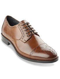 Stacy Adams® Granville Perforated Cap-Toe Oxfords