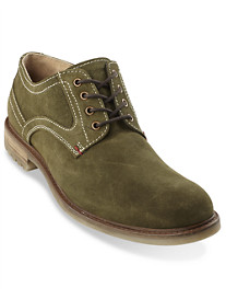 Hush Puppies® Roghan Rigby Suede Plain-Toe Oxfords
