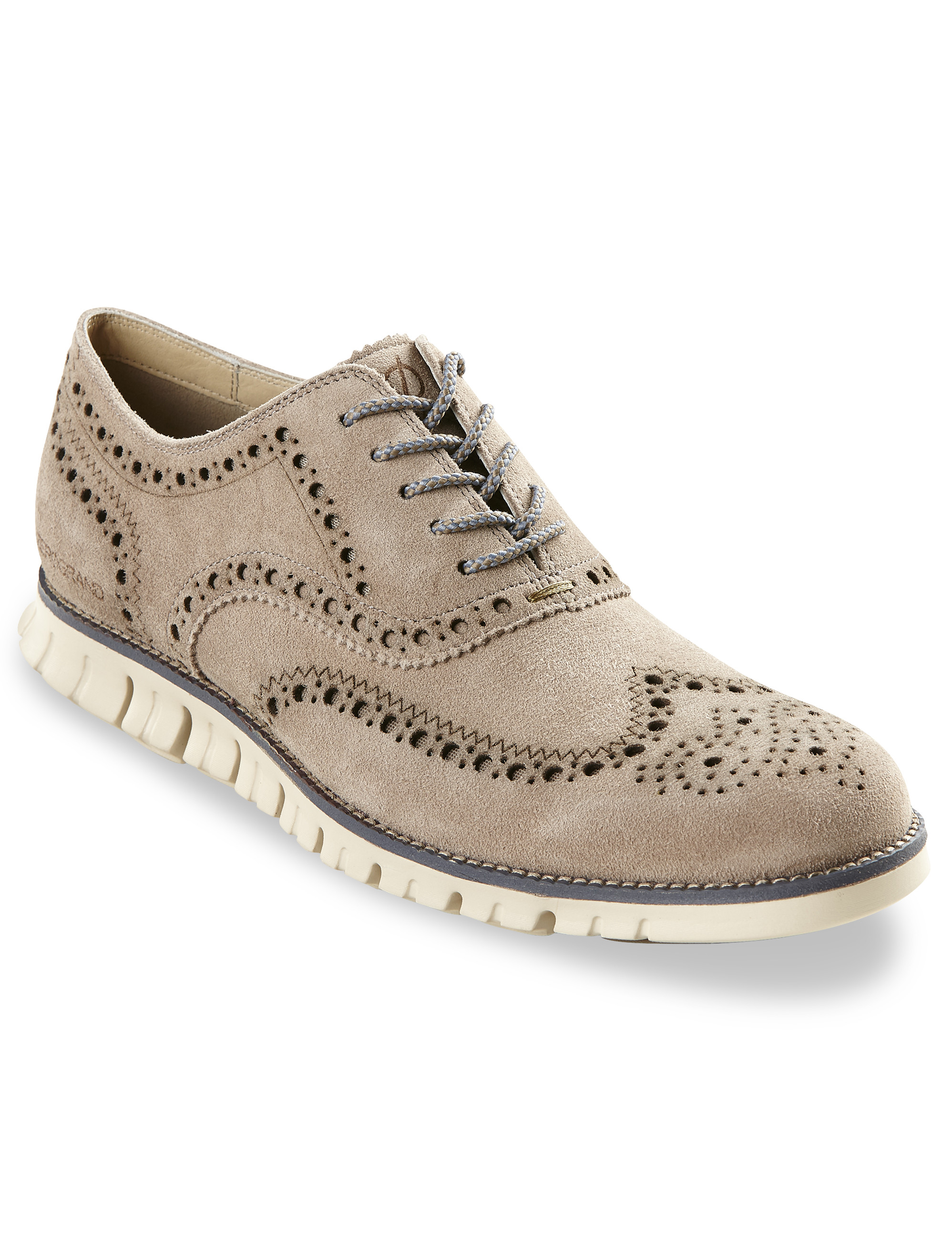 Cole Haan ZeroGrand Wing-Tip Oxfords | Tuggl