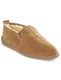 Minnetonka Twin Gore Sheepskin Slippers