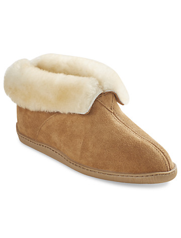 Minnetonka Sheepskin Ankle Boots - $80.00