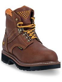 Dingo® Gripper Zipper Steel-Toe Boots