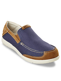Crocs™ Walu Luxe Canvas Slip-Ons