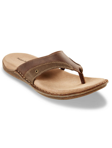 Hush Puppies® Wilton Grady Thong Sandals