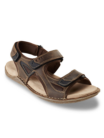 Hush Puppies® Rawson Grady 3-Strap Sandals