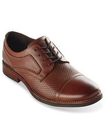 Rockport® Wyat Woven Cap-Toe Oxfords
