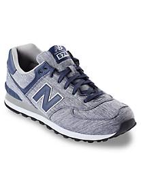 New Balance® 574 Heathered Knit Runners
