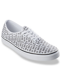Vans® Authentic Off The Wall Lace-Up Sneakers