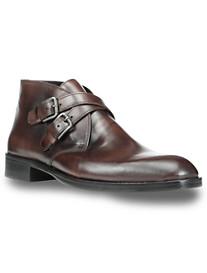 Donald J. Pliner Zigor Double-Buckle Boots