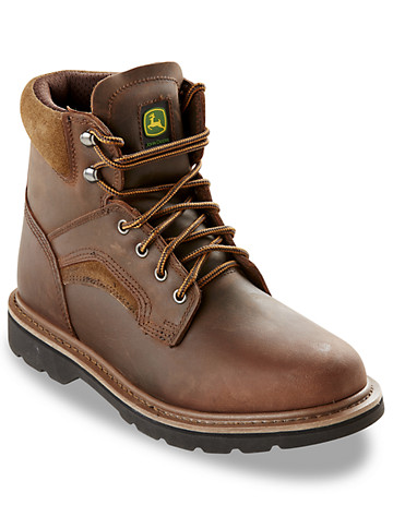 "John Deere® 6"" Lace-Up Boots"