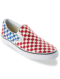 Vans® Classic Check Slip-Ons