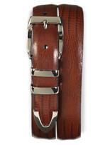 Tulliani Teju Lizard Embossed Belt