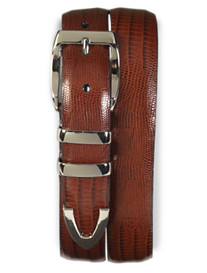 Tulliani Teju Lizard Embossed Belt
