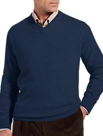 Rochester Cashmere V-Neck Sweater