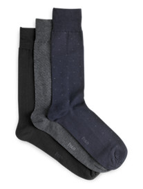 Polo Ralph Lauren® Patterned Socks 3-Pk.