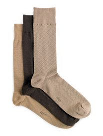 Polo Ralph Lauren® 3-pk Patterned Socks