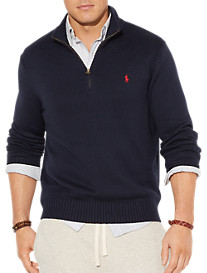 Polo Ralph Lauren® Half-Zip Cotton Sweater
