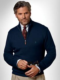 Polo Ralph Lauren® 1/2-Zip Cotton Sweater