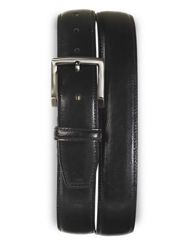 Rochester Elastic-Insert Leather Belt - ( Belts & Suspenders )