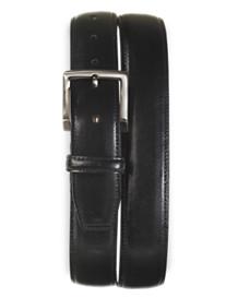 Rochester Elastic-Insert Leather Belt