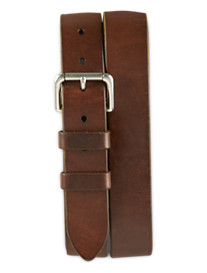 Polo Ralph Lauren Italian Saddle Leather Jeans Belt