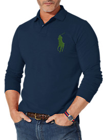 Polo Ralph Lauren® Big Pony Mesh Polo (newport navy, white, red, black, newport navy green, black w olive, cantebury heather)