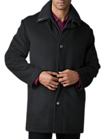 Calvin Klein® Wool and Cashmere Coat