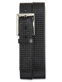 Rochester Perforated Black Belt