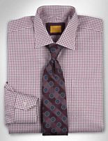 Robert Talbott Sutter Check Dress Shirt