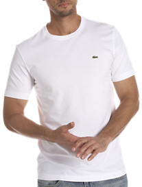 Lacoste Cotton Jersey Crewneck Tee