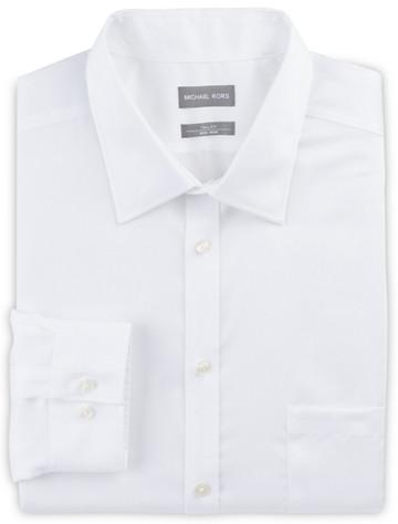 Michael Kors Solid Dress Shirt