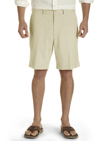 Long Khaki Shorts from Destination XL
