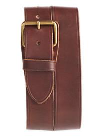 Polo Ralph Lauren® Leather Luggage Flat Belt