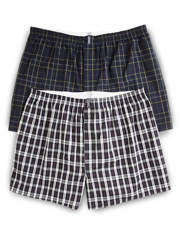 Jockey® Full-Cut Boxers – 2-pk