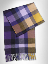 Duchamp Dazma Check Scarf