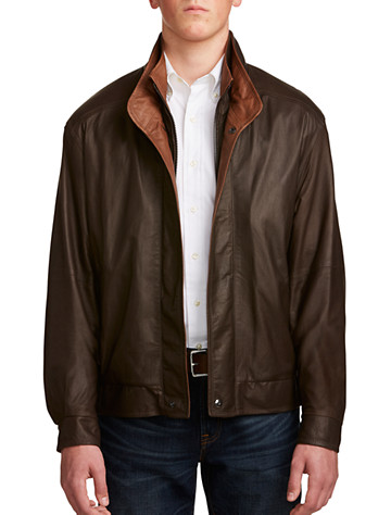 Remy Double-Collar Leather Bomber - $1495.00