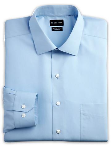 Rochester Egyptian Cotton Broadcloth Dress Shirt