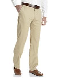 Lacoste® Flat-Front Gabardine Cotton Chinos