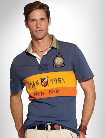 Polo Ralph Lauren Rugby With Novelty Crest