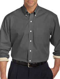 Cutter & Buck Cutter Gingham Long-Sleeve Sport Shirt