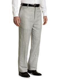 Tallia Orange Corded Flat-Front Trousers