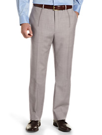 Tommy Hilfiger® Sharkskin Pleated Dress Pants